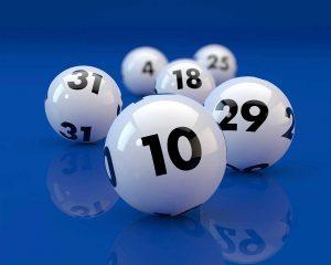 01 lottery balls